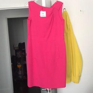 Anne Klein hot pink dress